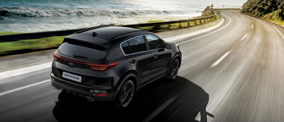 Kia Sportage Black Edition rear