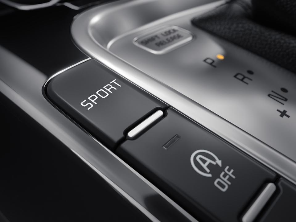 kia ceed gt with drive mode selection buttons